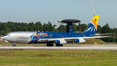 NATO - NAEW&C Force / E-3A Sentry / LX-N90443 / 25 Years NATO E-3A Component