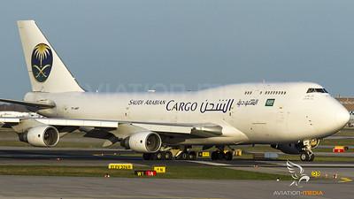 Saudi Arabian Cargo Boeing 747-400BCF