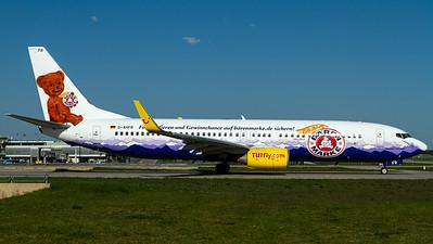 "TUIfly / B737-800(WL) / D-AHFR / ""100 Jahre Bärenmarke"""
