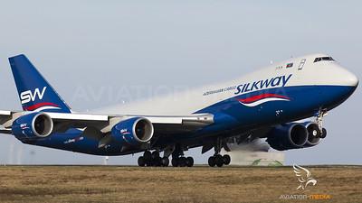 Silk Way West Azerbaijan Cargo Boeing B747-8F Frankfurt Hahn