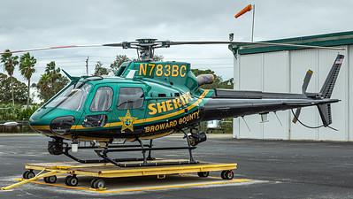 Broward County Sheriff / Airbus H125 / N783BC
