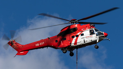 Heli Swiss / Aerospatiale AS332C1 Super Puma / HB-XVY