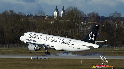 Lufthansa Star Alliance A320 D-AIPD