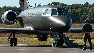 RNoAF Falcon 20 ready for start-up