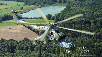 Flying with the Hind...