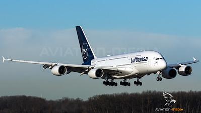 Lufthansa A380 @ MUC
