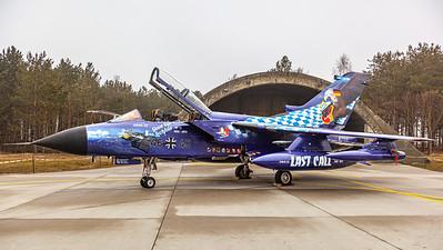 "Luftwaffe - JBG32 / Panavia Tornado-ECR / 46+45 / ""Good Bye Lechfeld"""