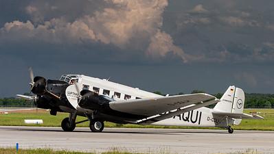 Lufthansa Traditionsflug / Junkers Ju 52/3m / D-CDLH