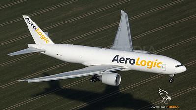 Aero Logic B777 final approach