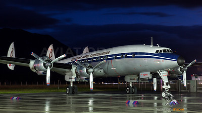 Breitling Lockheed Super Constellation Salzburg Hangar7