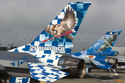 Belgian Air Force Color Tails