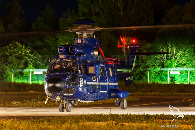 Super Puma night run...