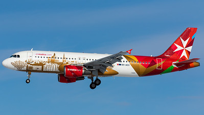 "Air Malta / A320-200 / 9H-AEO / ""Valletta - European Capital of Culture"""