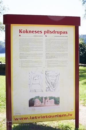 Kāzas Koknesē (www.dzintarskrastins.com)