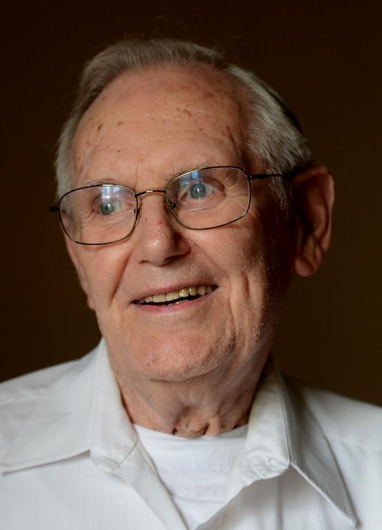 . Tania Barricklo-Daily Freeman                      Bill Ford at age 94. Photo taken at Daily Freeman.