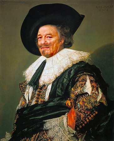 """Laughing Cavalier,"" Frans Hals"
