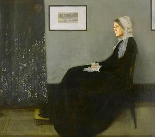 """Whistler's Mother,"" James McNeill Whistler"
