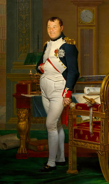 """The Emperor Napoleon In His Study At The Tuileries,"" Jacques-Louis David"
