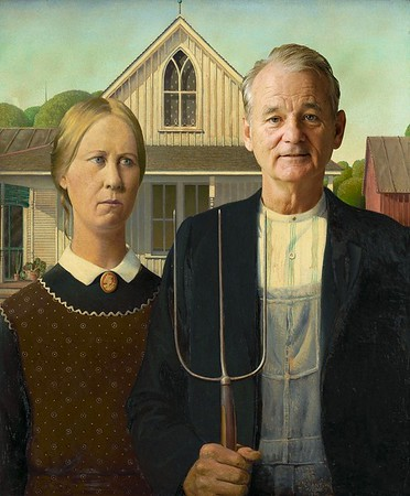 """American Gothic,"" Grant Wood"