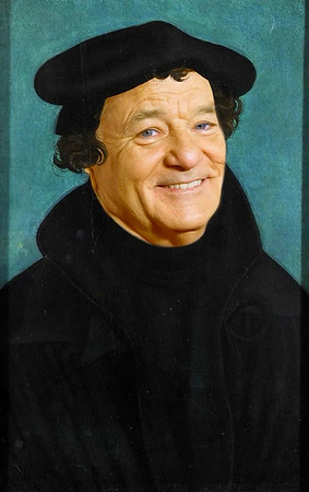 Lucas Cranach, Martin Luther