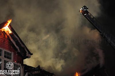 5 Alarm Condo Fire - 100 Richards Ave, Norwalk, CT - 12/11/17