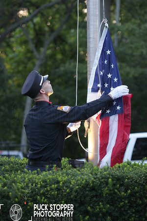 9/11 Ceremony - Washington Blvd, Stamford, CT - 9/11/17