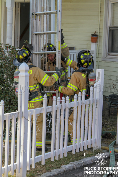 Stamford house fire on Hackett Circle South
