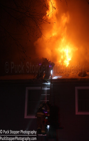 Structure Fire - 36 Old Orchard Ln, Stamford, CT - 3/12/17 BT