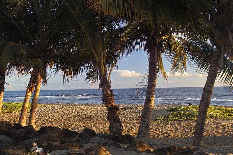 Another peaceful beach near Kekaha.
