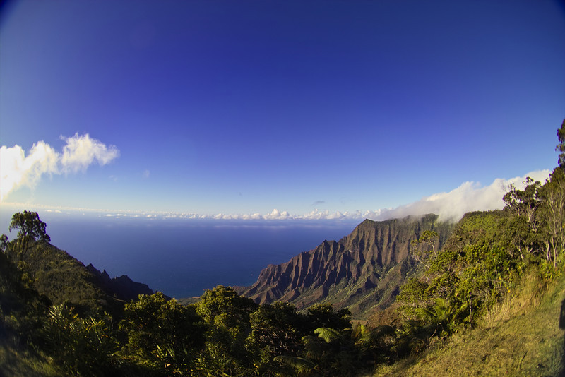 This valley was the main home on Kaua'i for ancient Hawaiians.