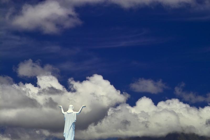 An uplifting sky!