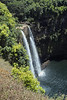 View of Wailua Falls.  Again, less water, but still beautiful.