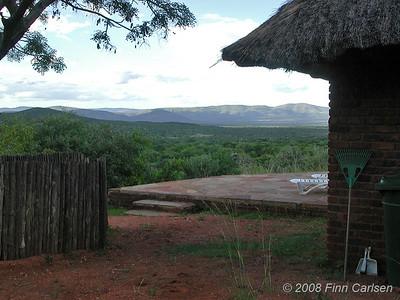 Udsigt, Mabula Game Reserve, Limpopo, Sydafrika