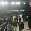 Billerica Class President Samantha White leads classmates into graduation on June 7 at the Tsongas Center. SUN/Rick Sobey