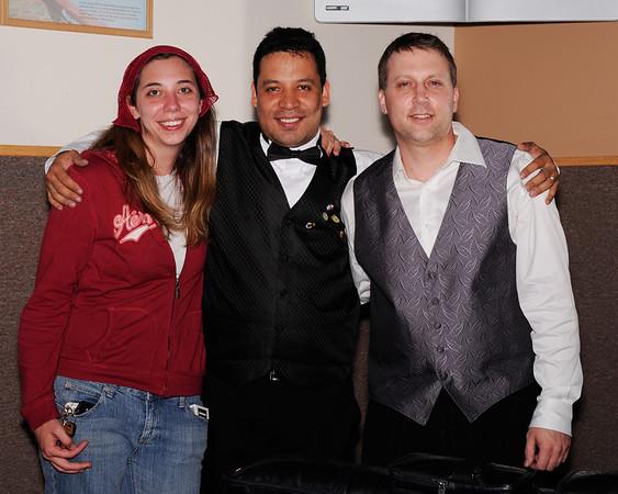 Dana, Miguel Torres and Dan Kolacz