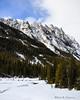 Shepard Mountain stands above Phantom Creek, in the Absaroka-Beartooth Wilderness Area.