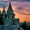 Fisheman's Bastion at Sunset, Budapest