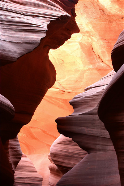 Woman, Antelope Canyon, Utah