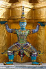 A Ramakien figure, at Wat Phra Kaeo, the Grand Palace Bangkok
