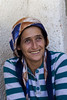 Local woman in Adn valley, Uchisar, Turkey