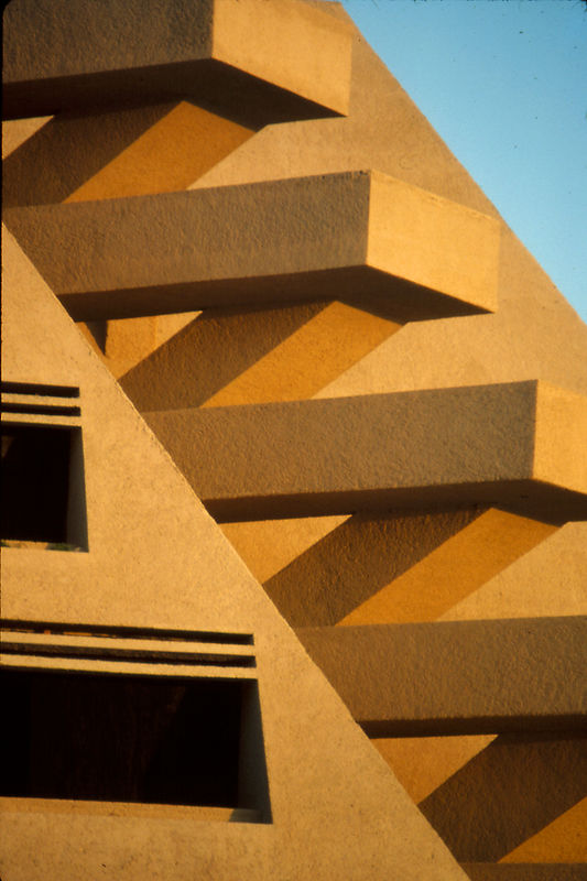 Architecture of the Oasis Hotel, Cancun, Mexico