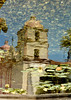 Reflectio of the Mission of Santa Barbara, California