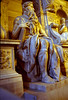 Statue of Moses, on tomb of Julius, St. Peters Basilica, Rome
