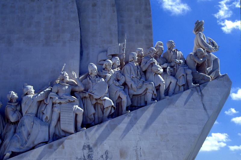 The monument ot Henry the Navigator, in Lisbon, Portugal