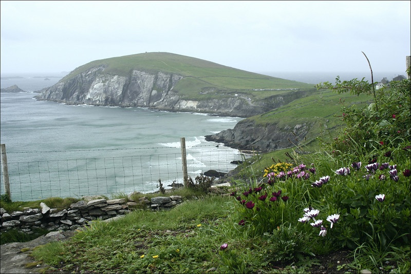 Slea head, on Dingle Peninsula, Ireland