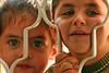 Bedoin children in Darajat, Israel