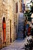 Cobblestone lane   Hvar, Croatia