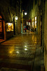 Street in nightime, Kotor, Montenegro