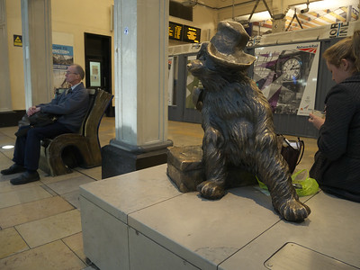 5  Paddington Bear at Paddington Station London P1230849