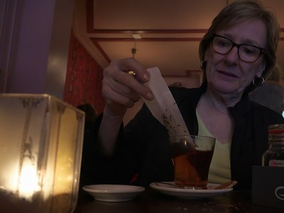 8  fancy tea bag - restaurant in Haarlem - North Holland P1240140